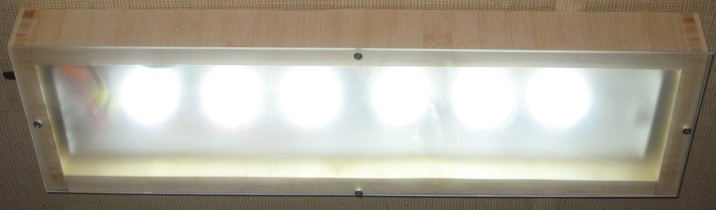 Turn Your 12V DC or 85-265V AC Fluorescent Light to LED - Part 2 (External Appearance)