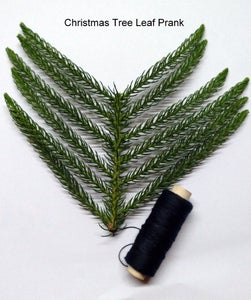 Christmas Tree Leaf Prank