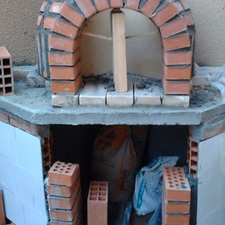 Wood Fired Brick Pizza Oven Build