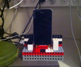 Lego phone charging dock