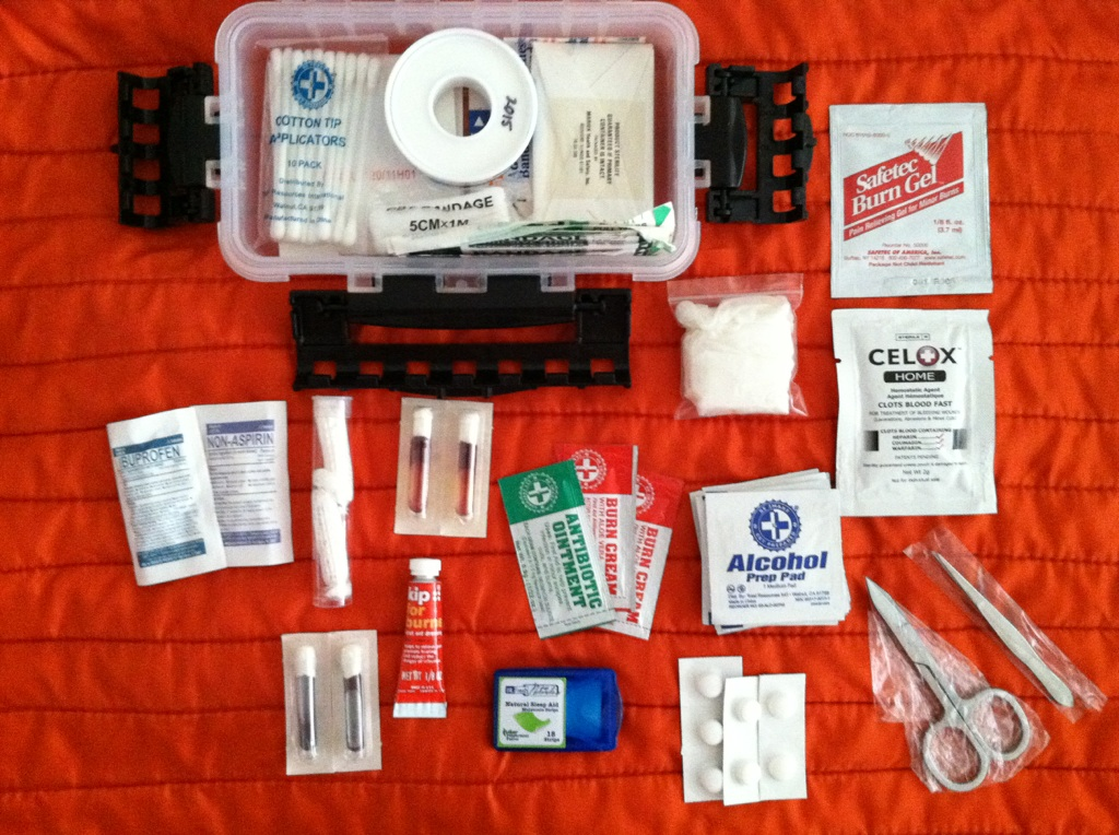 Picture of First Aid Kit in Detail