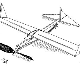 How to Make a Rubberband Powered Airplane