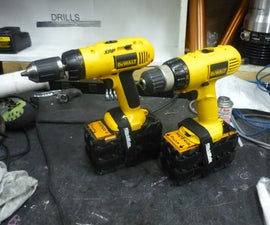 Makerspace Power Tool Upgrade: NiMh to Lithium Iron Phosphate