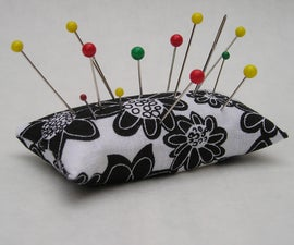 Emery Pincushion - Keeps pins and needles sharp - Sew Useful Entry
