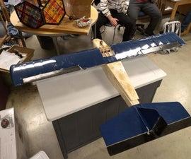 Foam and Balsa Wood RC Airplane