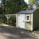 Backyard Observatory Using SkyShed Plans