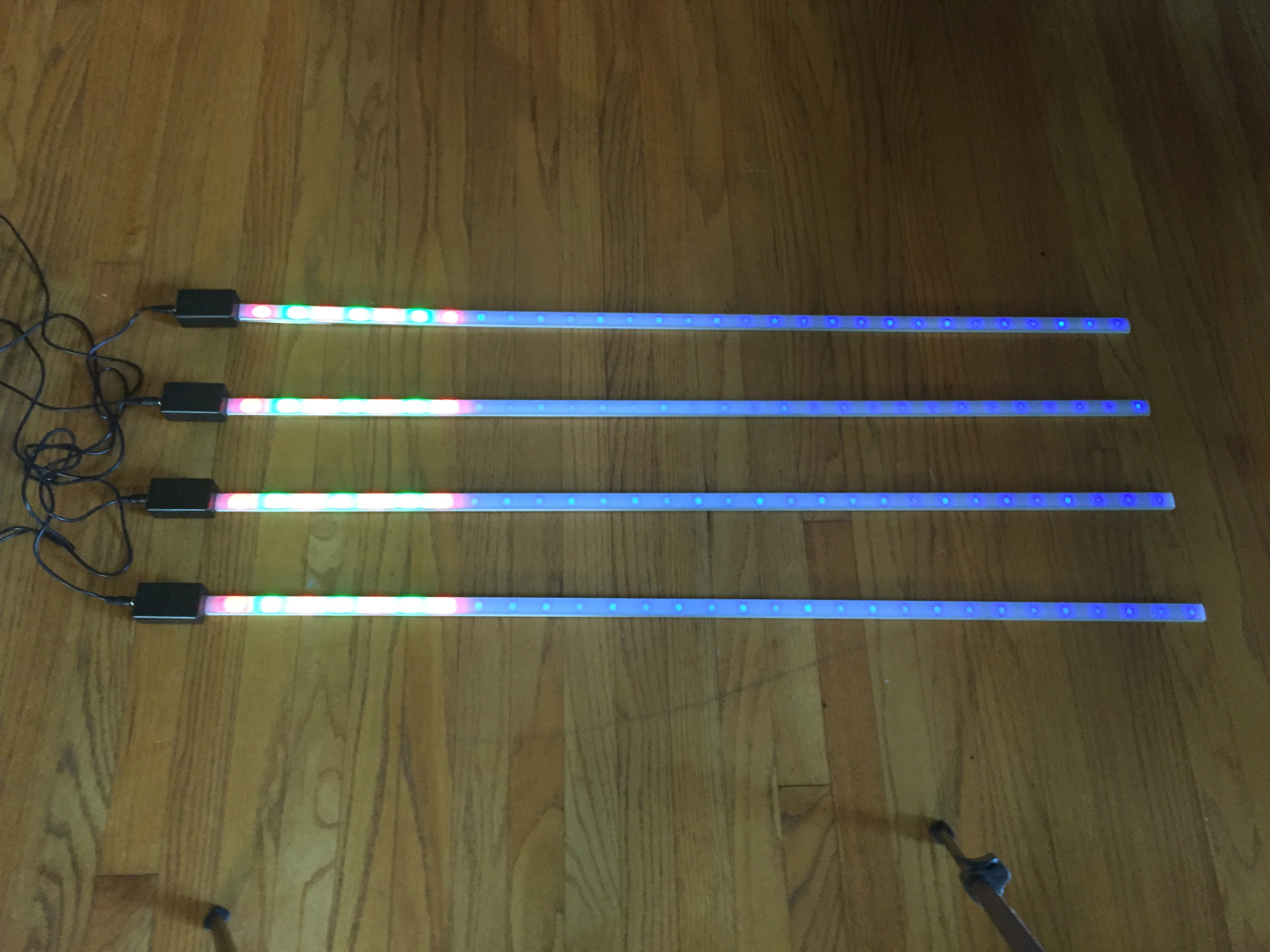 Picture of WiFi Mesh Synchronized LED Bars