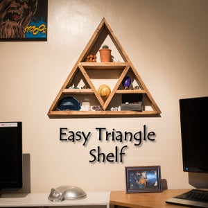 Easy Triangle Shelf