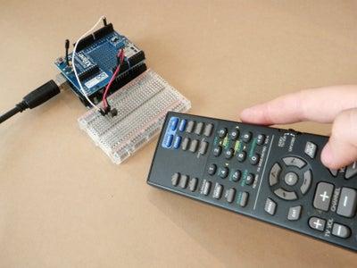 Clone a Remote With Arduino