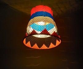 Trash Bin to Designer Lamp