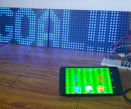 Score Board Project With P10 LED Display Using DMD