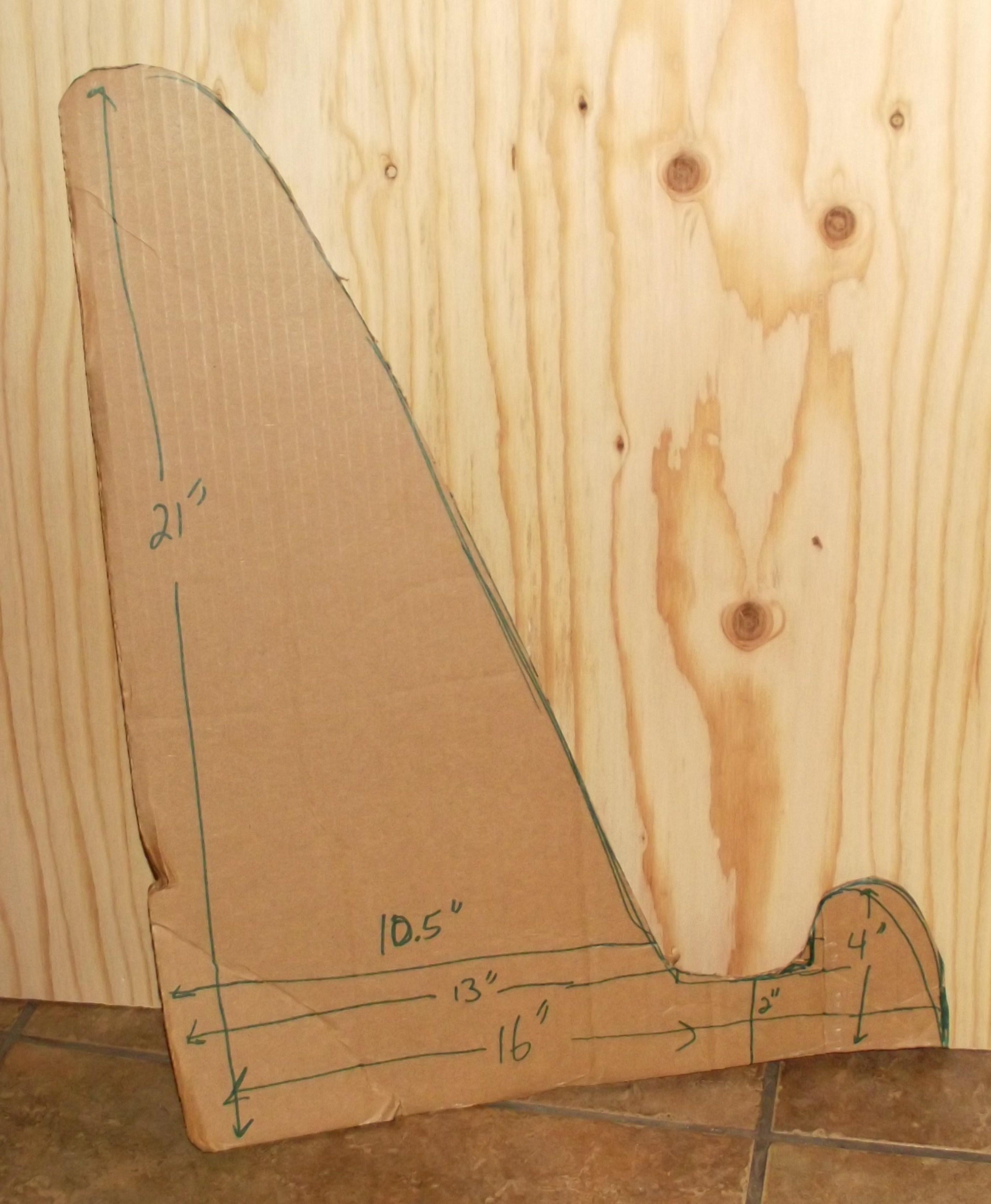 Picture of Making the Stand-wings
