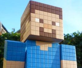 Minecraft Steve Model! w/ Bonus Double Chest!