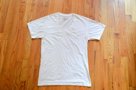First Step: White Tee