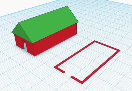 Create a Floor Plan Slice in Tinkercad