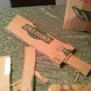 Custom Cardboard Sword