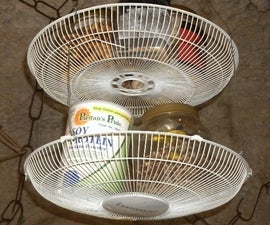 Fan Housing Baskets for Kitchen Storage
