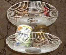 Fan Housing Baskets for Kitchen Storage