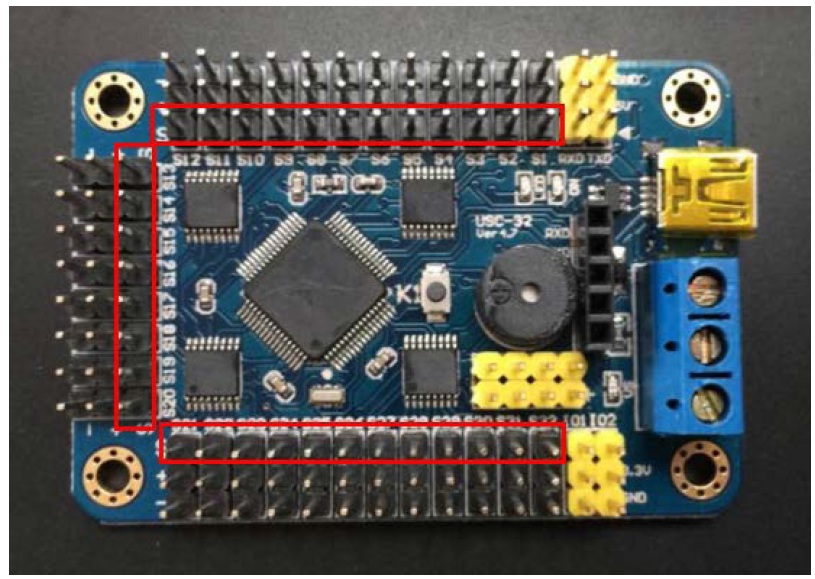 Picture of Connect the Servo to the Servo Controller