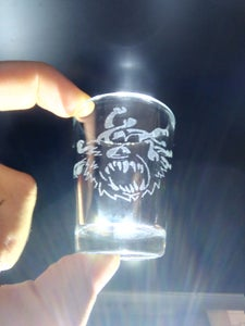 Etching Glass With a Rotary Tool