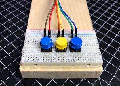 Prepare the Button Switch Unit
