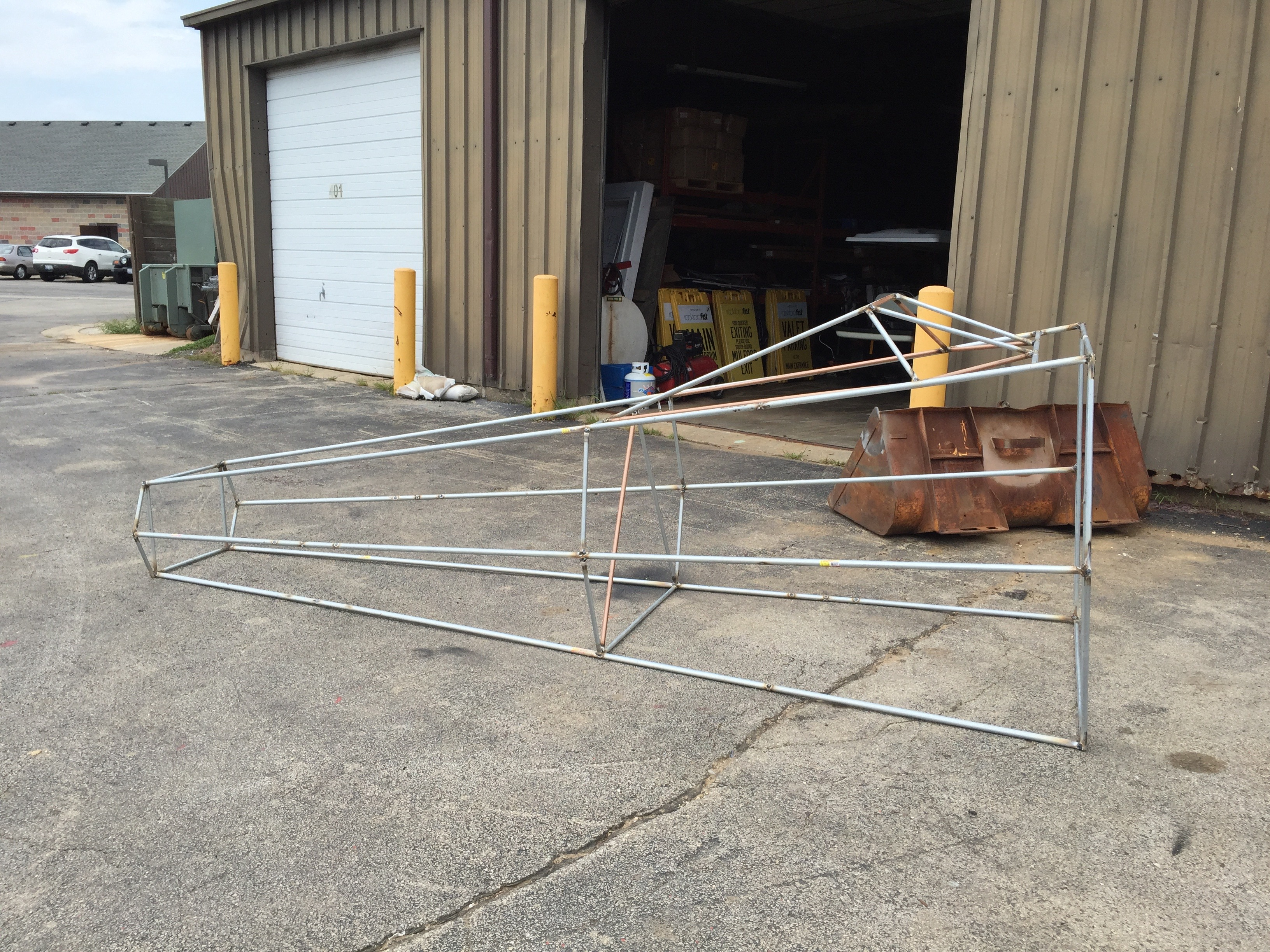 Picture of Start Building the Frame.