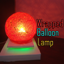 Wrapped Balloon Lamp
