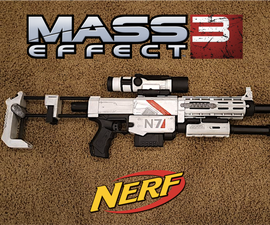 Mass Effect Modded Nerf Gun