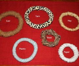 Coir,Plastic,Yarn,Root,Hay,Paper