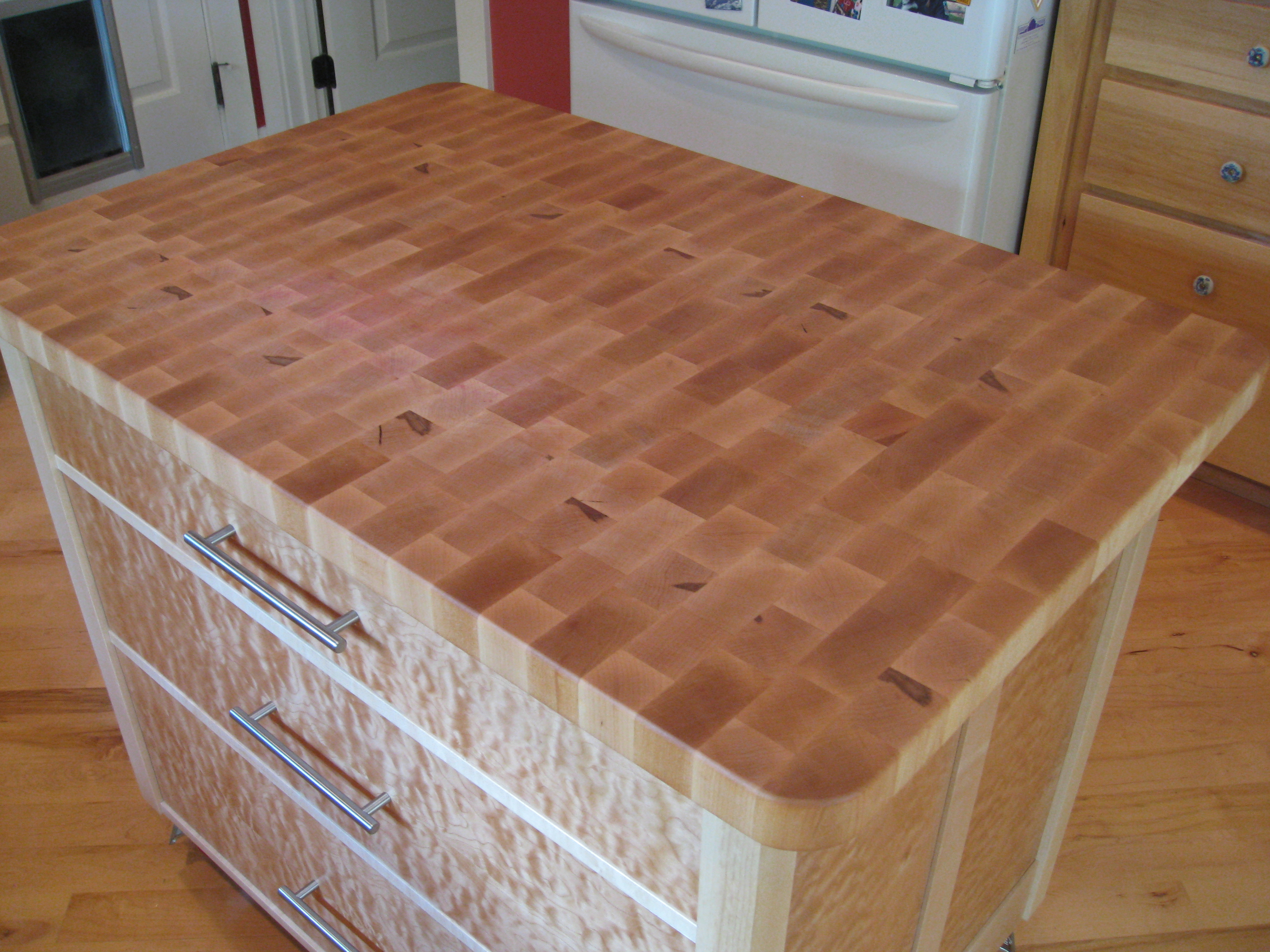 How to build a butcher block - Butcher Block Counter Top