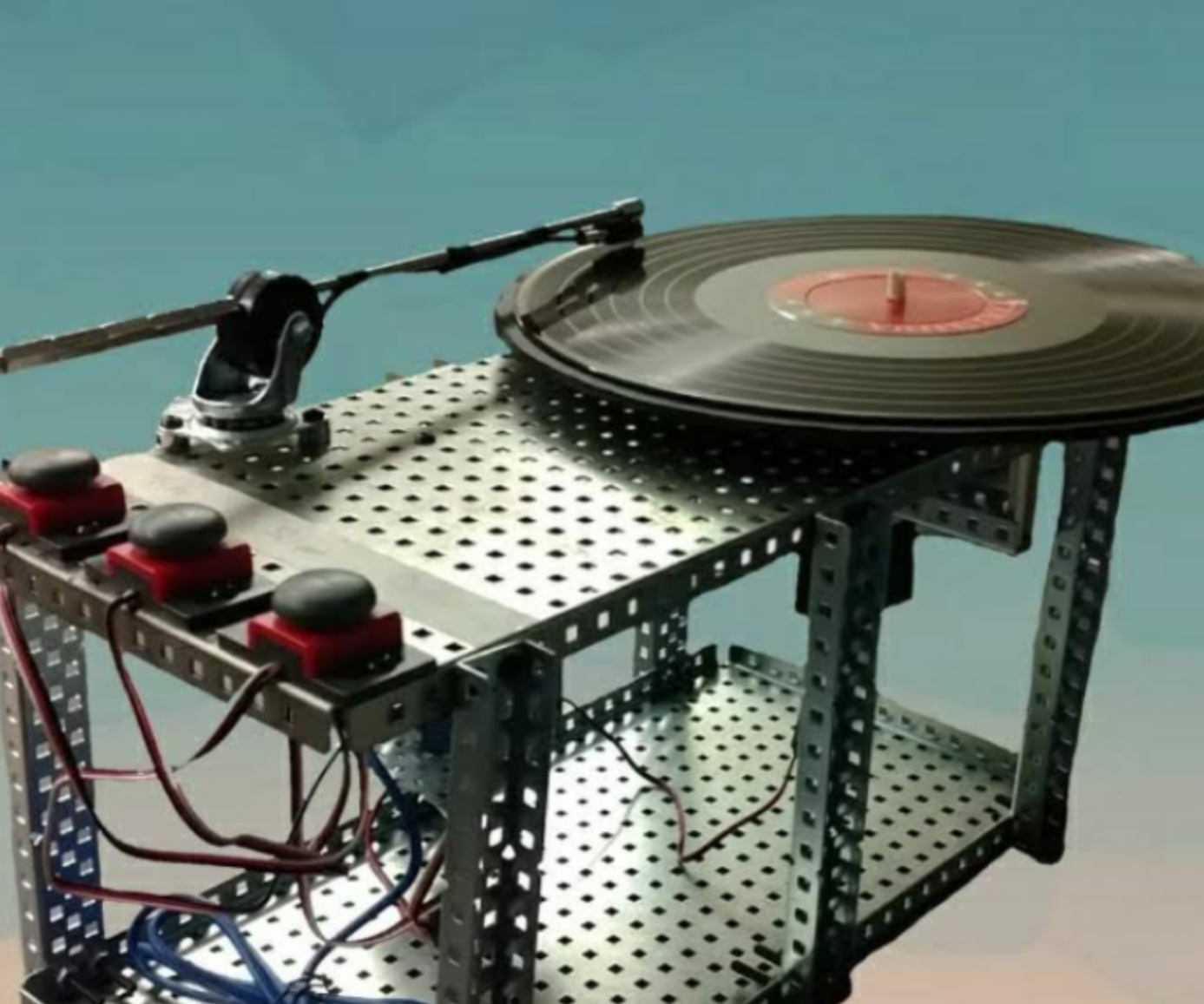 QnA VBage DIY VEX Record Player