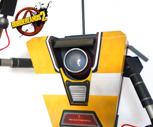 Borderlands 2: Posable Claptrap Model