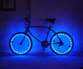 Bicycle Rim Lights