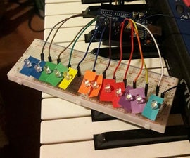 Frequency Identifier: Showing Music With Colours