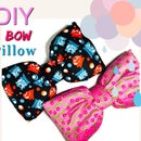 Sew a Bow Pillow