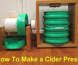 How To Make an Apple Masher and Cider Press