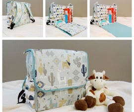 Diaper Changing Station Backpack