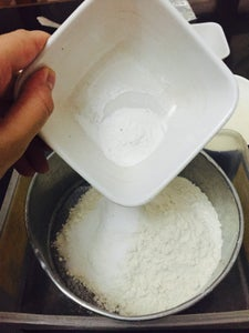 Mix Your Dry Ingredients