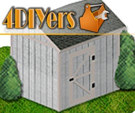 8x10 Shed Plans (Free)