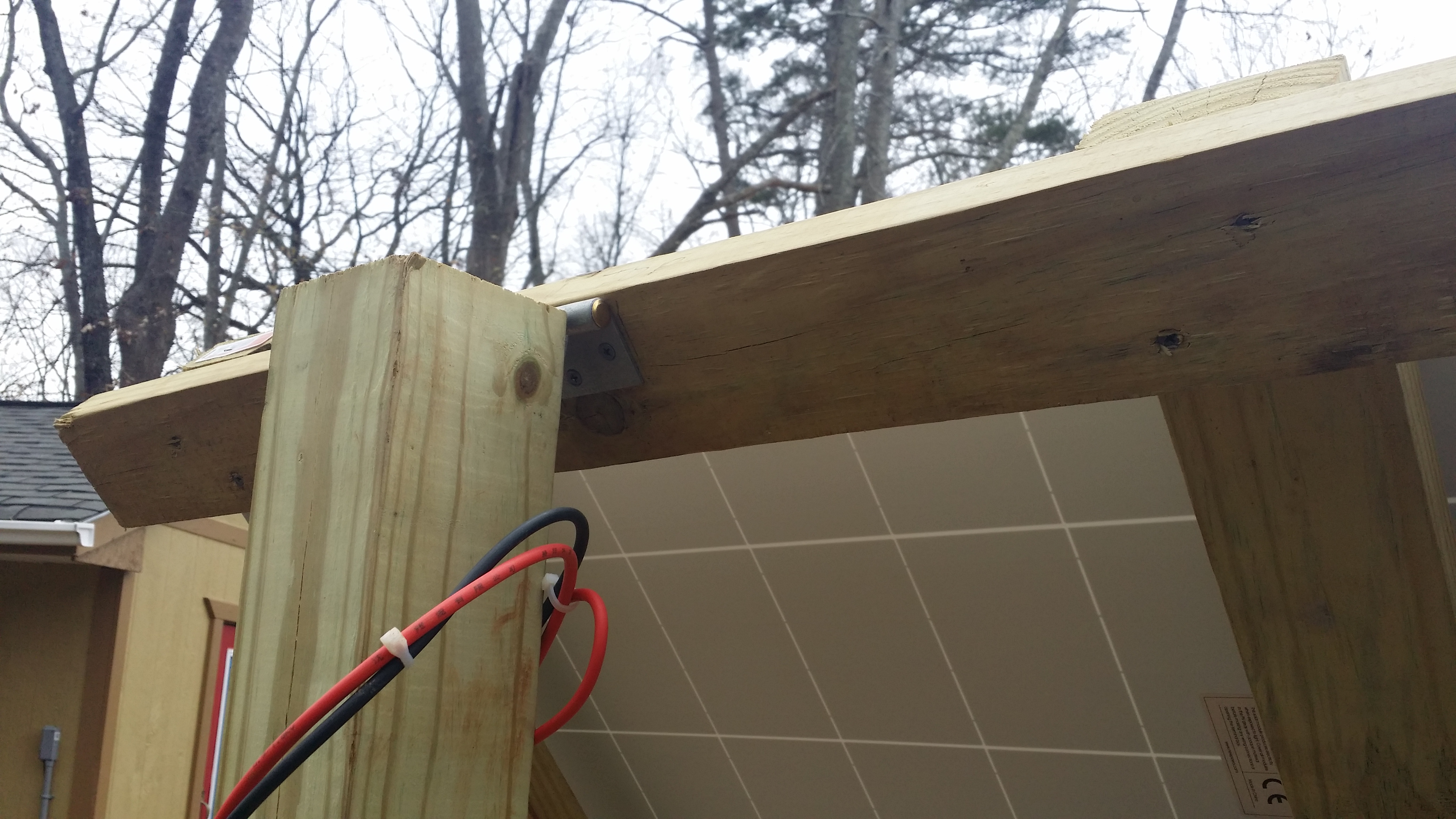 Picture of Installing Frame and Tilt Lever