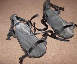 Tire Sandals