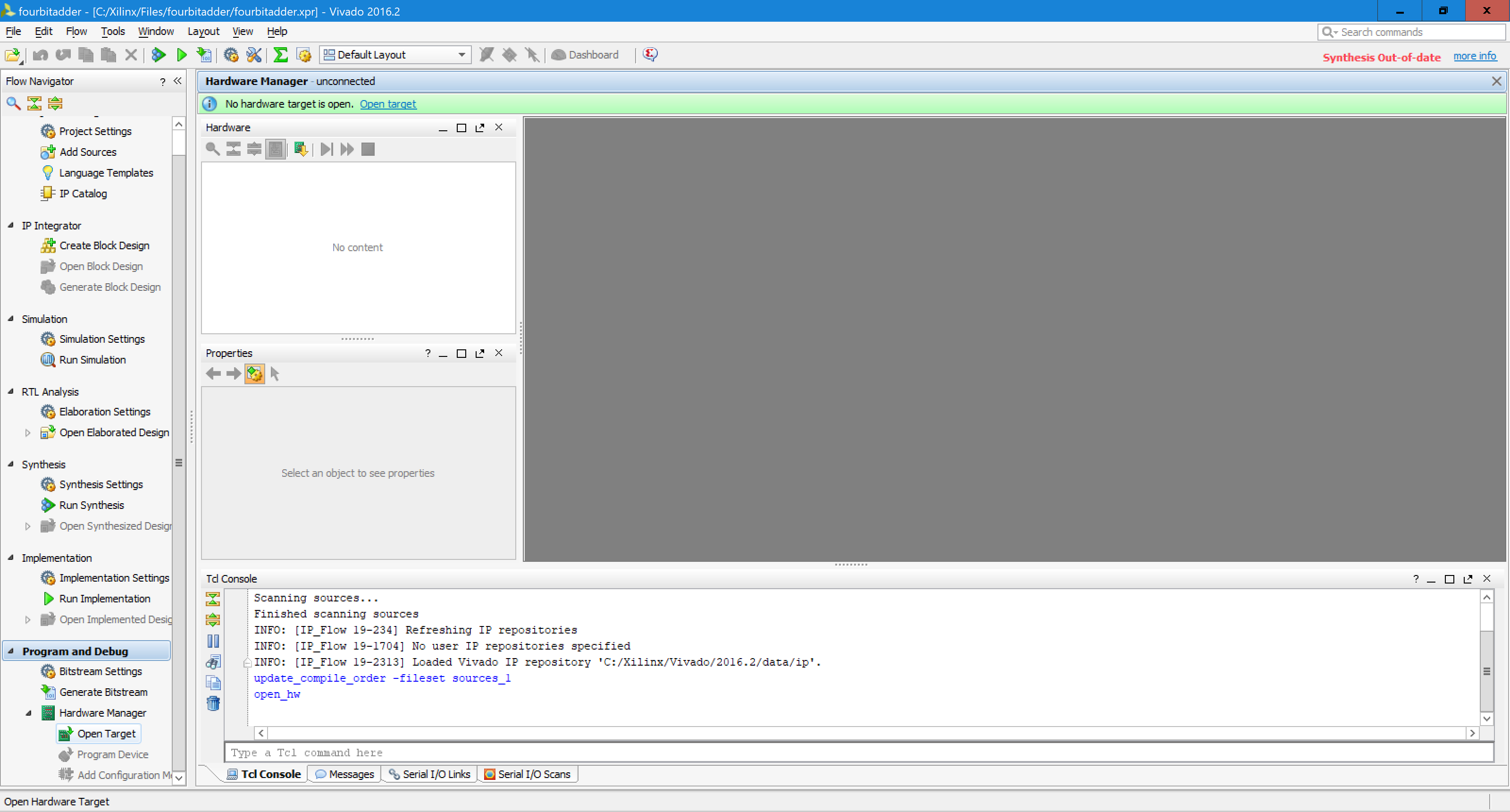 Picture of Implementing VHDL Files to Basys 3