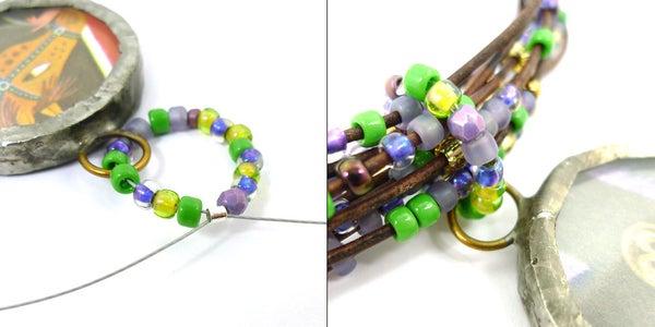 Create Beaded Loop With Pendant