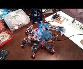 Hector the Hexapod: Cheapest Hexapod w/ Arm(Arduino)
