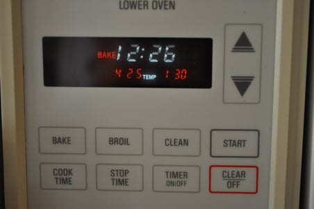 DON'T FORGET TO PREHEAT THE OVEN!!