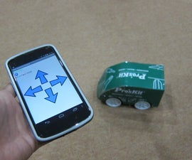 DIY Android Remote Control Car With Arduino