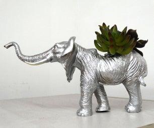 Elephant (or Anything Else) Planter