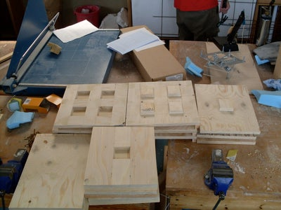 Preparing the Moulds