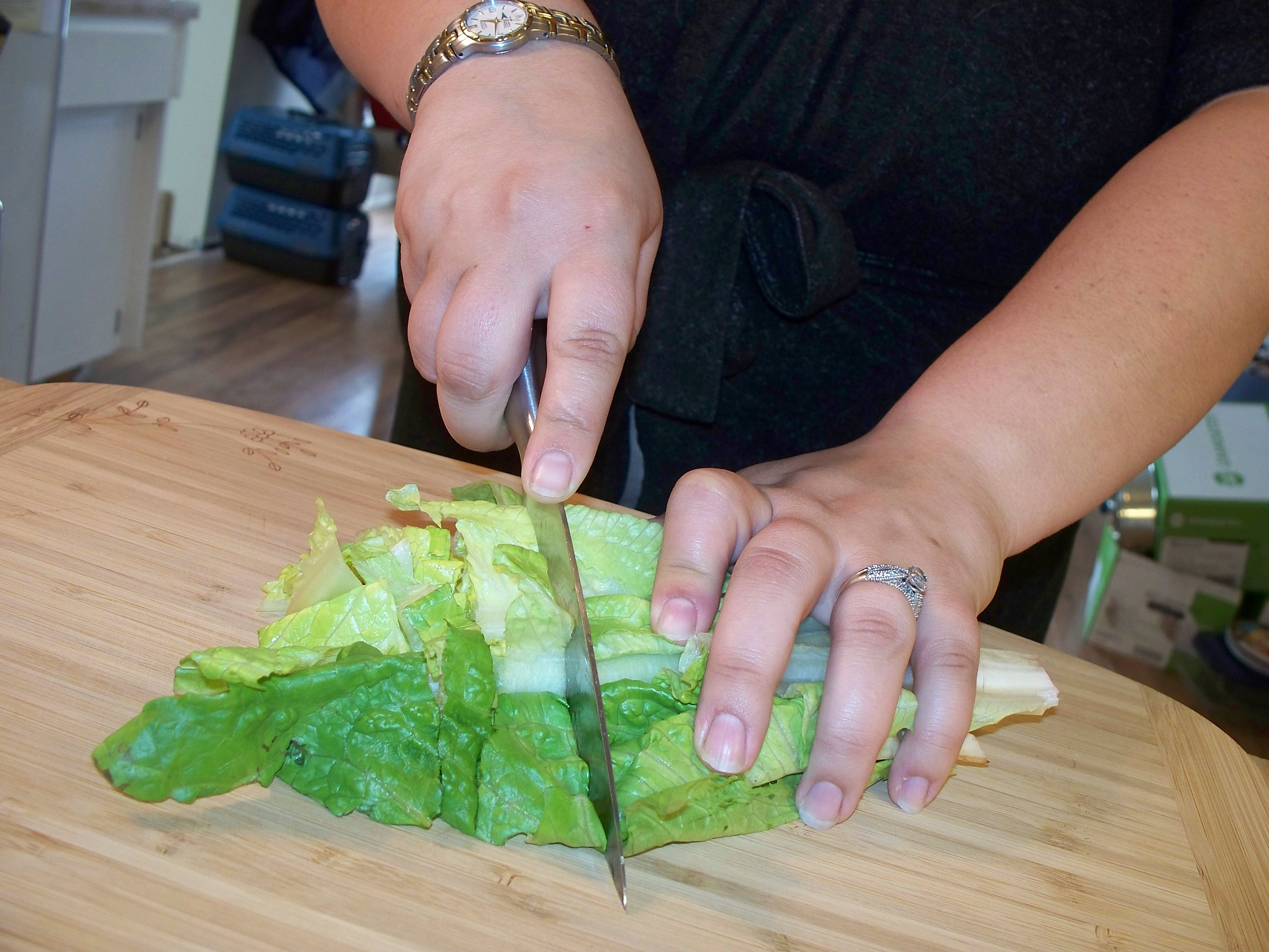 Picture of Prepping the Stuffing