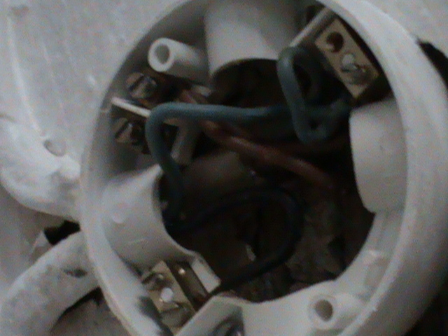 Picture of how to wire a light socket?